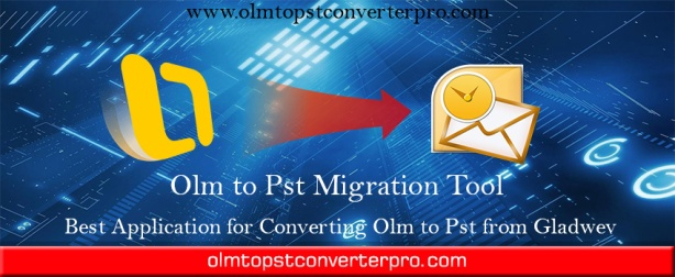 Olm file to Pst converter